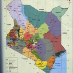 Turkana country coloured in light purple (NW corner)